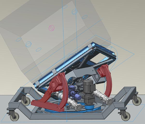 Swivel Test Rig